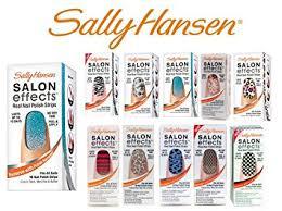 amazon com lot of 10 sally hansen salon effects real nail polish