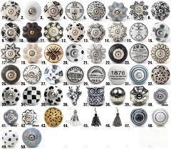bouton de cuisine poignee et bouton de cuisine 3 vintage boutons en c233ramique