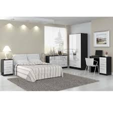 bedroom furniture black and white interior design