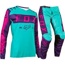 womens motocross gear combos fox 2017 mx new 180 purple pink seafoam jersey pants womens