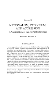 how to write a rationale for a research paper nationalism patriotism and aggression springer inside