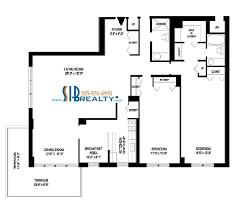 50 Sq Ft Bathroom by Two Bed 1860 Winston Towers Floor Plan Sib Realty Com Sib Realty