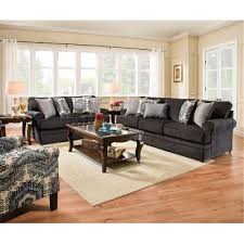 Sofas And Loveseats Sets by Casual Contemporary Slate Blue Sofa U0026 Loveseat Set Bellamy Rc