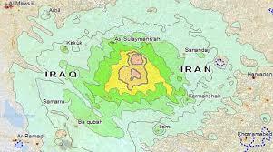 map iran iraq iran iraq border earthquake toll rises to 61 more than 300