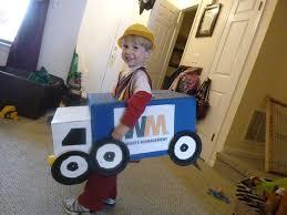Truck Halloween Costume Wonderful Gavin U0027s Garbage Truck Costume