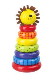 baby toy rings images Lion stacking ring orange tree toys jpg