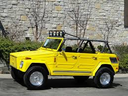 volkswagen kubelwagen this yellow rx 7 rotary powered vw thing can be yours