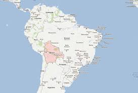 south america map bolivia bolivia geography map