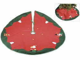 tappeti natalizi tappeto sottoalbero in panno con decorazioni natalizie 56 24 75