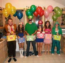 25 Super Mario Costumes Ideas Super 25 Funny Group Halloween Costumes Ideas Group