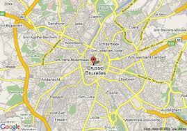 map brussels map of le meridien bruxelles brussels