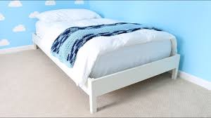 build a twin size bed frame youtube