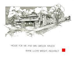 falling water floor plan frank lloyd wright usonian house plans modern floor soiaya