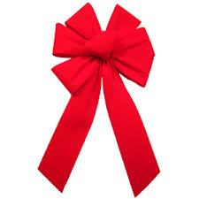 large lighted christmas bow outdoor bows outdoor waterproof bows weatherproof velvet bows