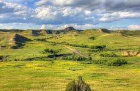 North Dakota landscapes images Free stock photo of landscapes of grasslands and hills at theodore jpg