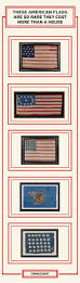 Reverse Color American Flag Antique Flags Most Expensive Flags