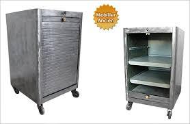 caisson metallique de bureau design industriel mobilier industriel meuble industriel