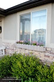 diy window flower boxes diy window flower boxes make it and love it