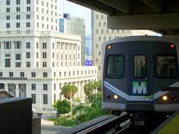 Miami Train Map by Metrorail Miami Dade County Wikipedia