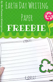 themed writing paper 67 best earth friendly images on pinterest earth day teaching spice up your writing projects are you looking for themed writing paper to add to a center or a spring writing project this earth day writing paper pack