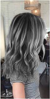 highlights for gray hair photos amazing grey silver highlights silver highlights tutorials and