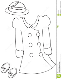 book clothes coloring kids page winter pages free mintreet
