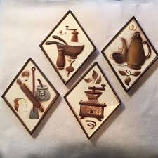 kitchen wall plaques 207 best vintage wall plaque images on vintage walls