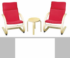 Comfort Chairs Birch Bentwood Ergonomically Shaped Comfort Chairs With Removable