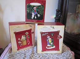 hallmark lot of 5 maxine ornaments wine coffee cup