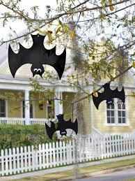 Homemade Halloween Ideas Decoration - halloween bat decorations craft for kids hgtv