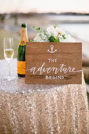 nautical wedding sayings 20 wedding signs we intimate weddings small wedding