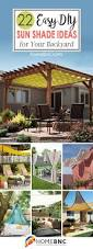 Shade Ideas For Patios 22 Best Diy Sun Shade Ideas And Designs For 2017