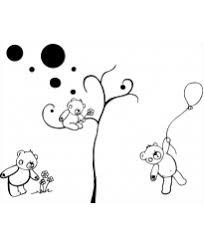 stickers nounours pour chambre bébé stickers chambre bébé pour constuire l univers de votre tout petit