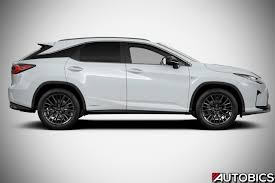 lexus rx black 2017 2017 lexus rx 450h f sport right side autobics