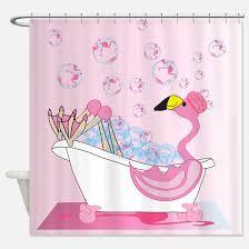 30 Weird And Wonderful Shower Curtains Fun Shower Curtains Flamingo Shower Curtains Cafepress