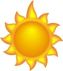 a sun with a clip at clker com vector clip