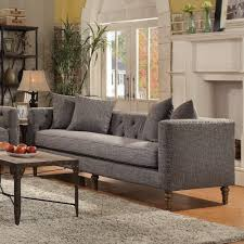 coaster ellery sofa with traditional industrial style local