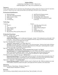 Game Designer Resume Josh Kleber Game Design United States Resume