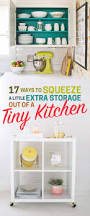 Extra Kitchen Storage Furniture 17 Ways To Squeeze A Little Extra Storage Out Of A Tiny Kitchen