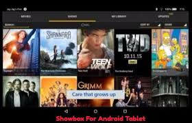 show box apk showbox for android tablet install showbox on android tablet