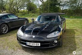 Dodge Viper Limited Edition - dodge viper srt 10 roadster black mamba edition 13 may 2017