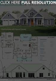 craftsman style house plans two story 2800 square foot colonial house plans