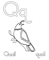 Bible Alphabet Coloring Pages Q For Quail Coloring Pages A Coloring Pages Q