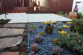 pebbles in garden beautiful gardens with pebble stones