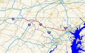 map us baltimore highway i 70 maryland exits summary