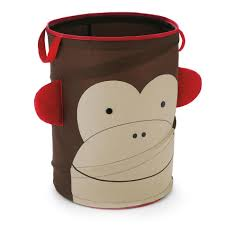 Baby Laundry Hamper by Skip Hop Zoo Pop Up Hamper Monkey Clearance Tjskids Com