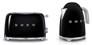Kettle Toaster Sets Uk Smeg Tsf01bluk Klf11bluk 50s Retro Style 2 Slice Toaster