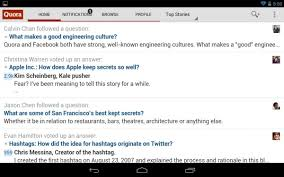 quora review the biggest name in social q u0026a comes to android
