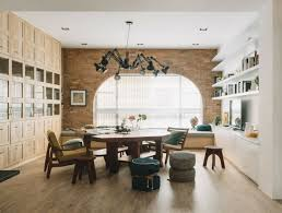 exposed brick wall lighting exposed brick walls dining room lighting