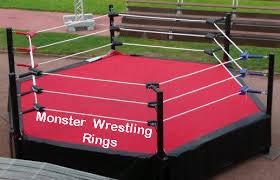 backyard wrestling ring for sale cheap hexagon wrestling rings